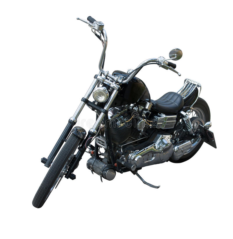 Black chopper royalty free stock photography