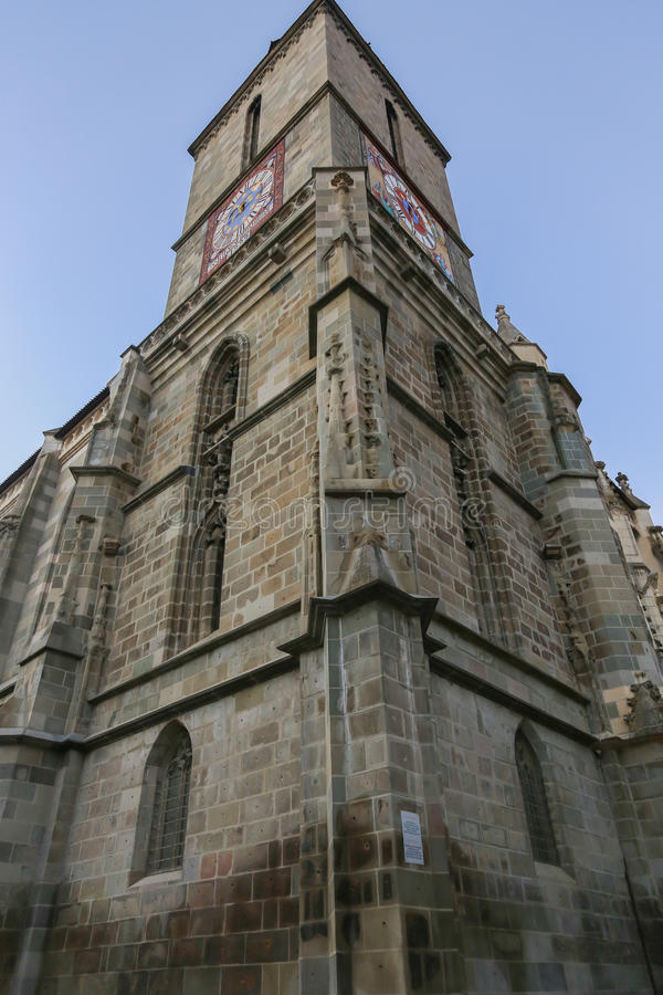 Black church in Brasov. Details. Black church in brasov, Transylvania, Romania royalty free stock photos