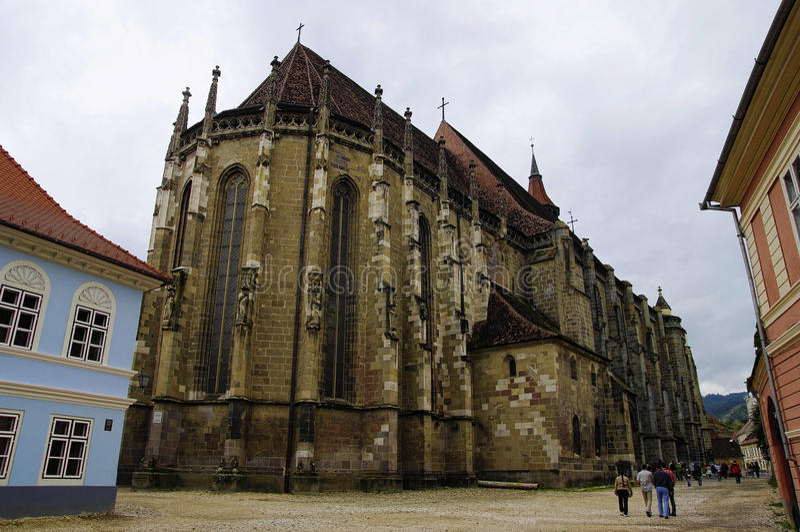 Black Church in Brasov royalty free stock photography