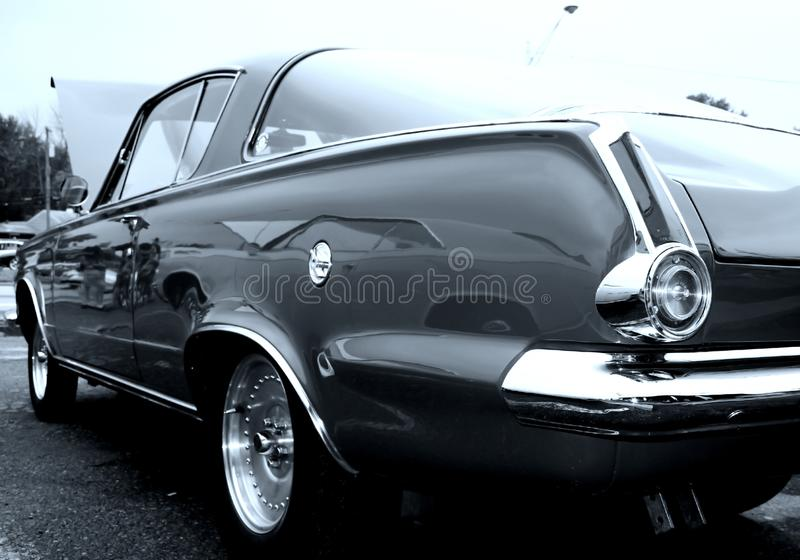 Black classic car stock photos