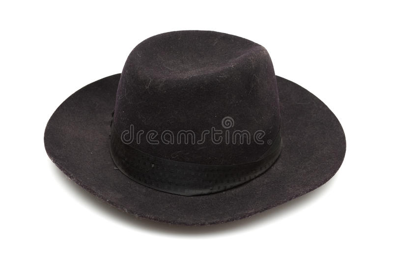 Download Black classic hat stock image. Image of 1980, culture - 13734313