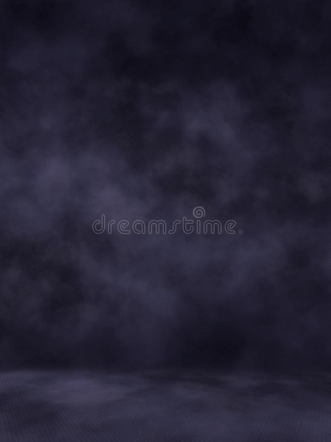 Background Studio Backdrops. Black classic portrait studio backgroun royalty free stock image