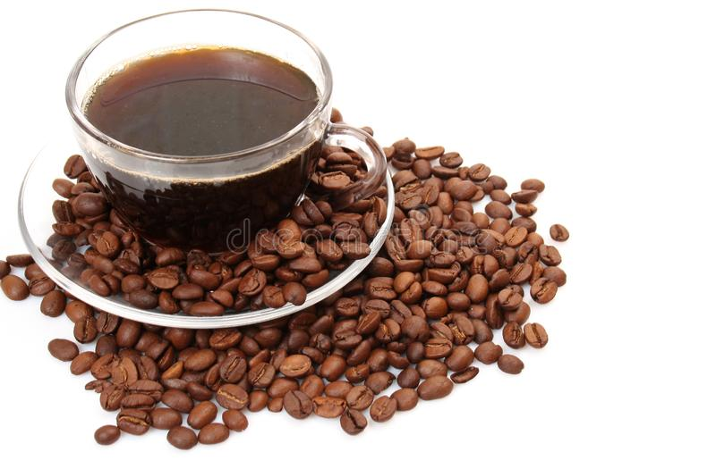 Download Black coffee stock image. Image of fried, invigorating - 13911759