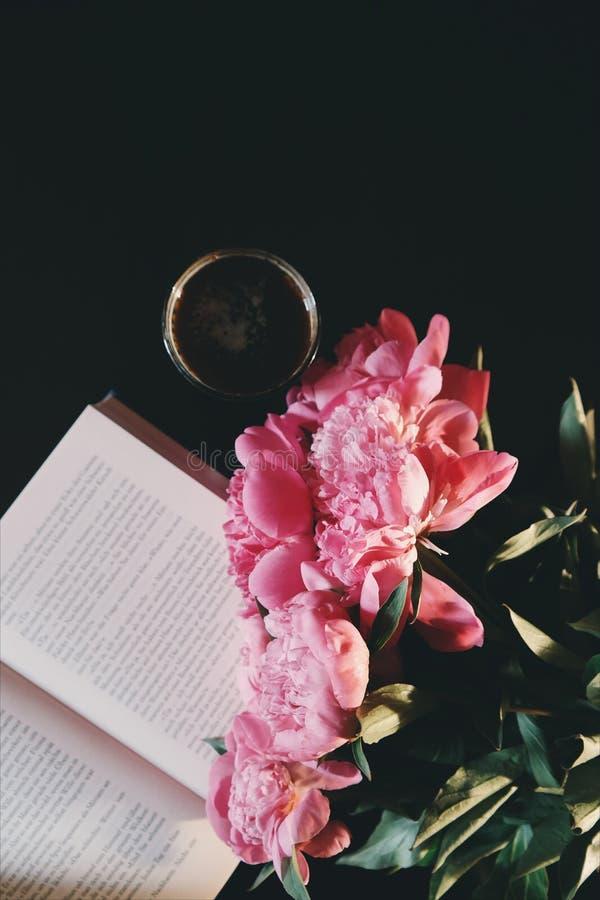 Black, Coffee, Bloom, Blooming, royalty free stock photo