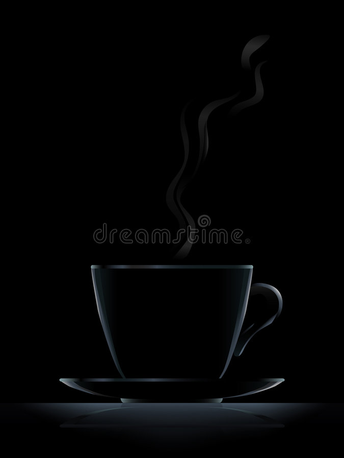 Free Black Coffee Cup Royalty Free Stock Photos - 3053698