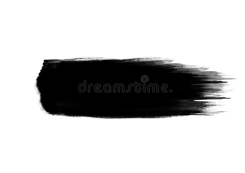 Color patches graphic brush strokes design effect element for background. Black color patches graphic brush strokes effect background designs element stock photos
