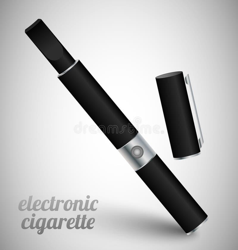 Download Black Common Electronic Cigarette Stock Illustration - Illustration: 25898882