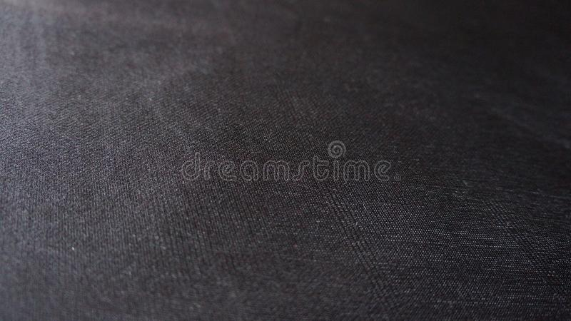 Black Compound Cloth Fabric Flat Texture Detail Closeup Angle royalty free stock images