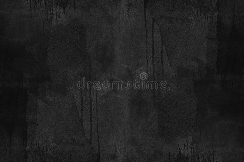 Black concrete texture with dirty painted. Abstract background. Vintage or retro backdrop. Website banner royalty free stock photo