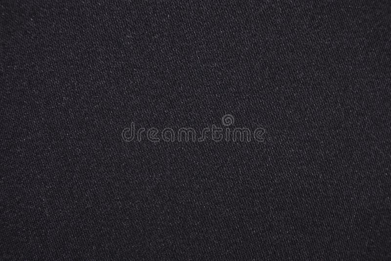 Black cotton fabric background royalty free stock photography