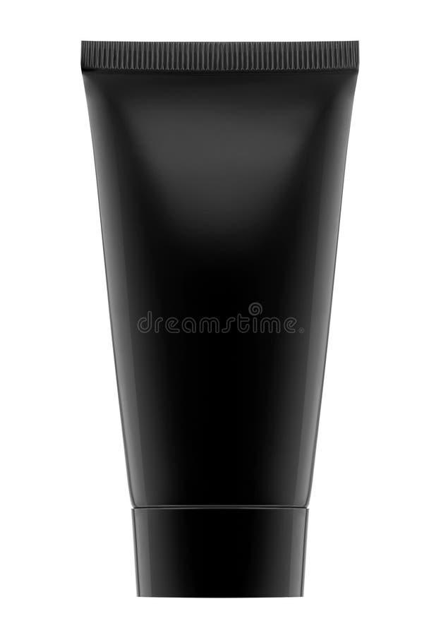 Black Cream container stock image