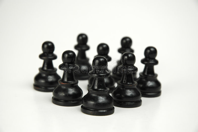 Download Black Crowd I stock image. Image of angriff, support, freigestellt - 79801