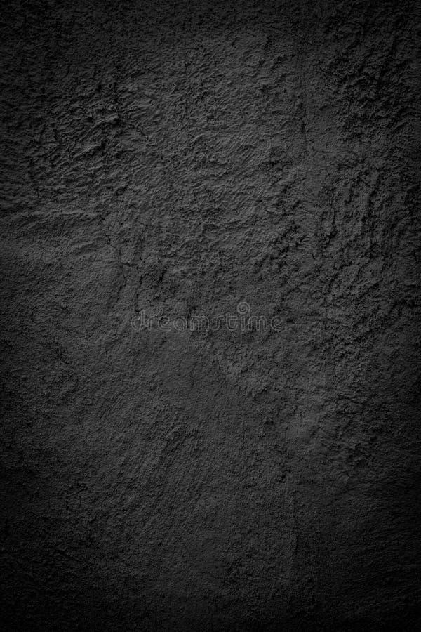 black dark grunge cement wall background stock image