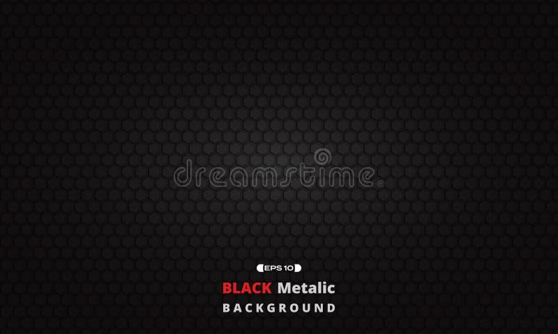 Black dark metallic texture grid background. Black dark metallic texture grid background, vector eps10 stock illustration