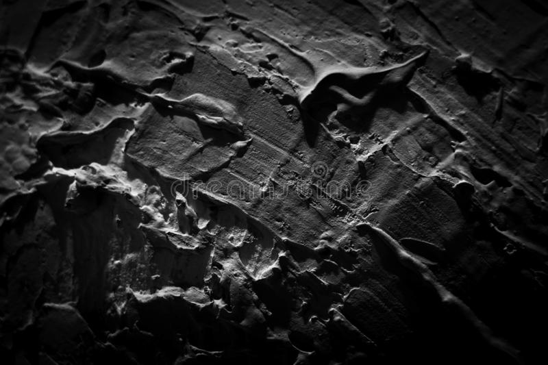 Black dark texture can be used for background stock image
