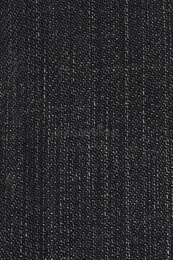 Black Denim Texture stock photos