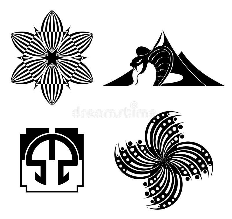 Download Black Design Elements - Vector Graphic Stock Vector - Image: 25334137
