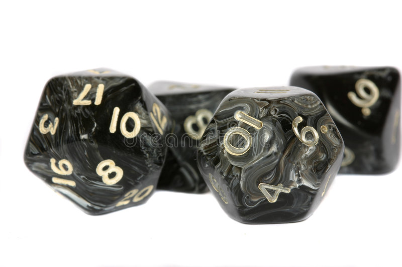 Download Black dice stock photo. Image of throwing, dice, dungeons - 191042