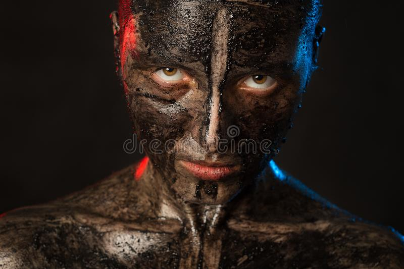Black dirty female stock images