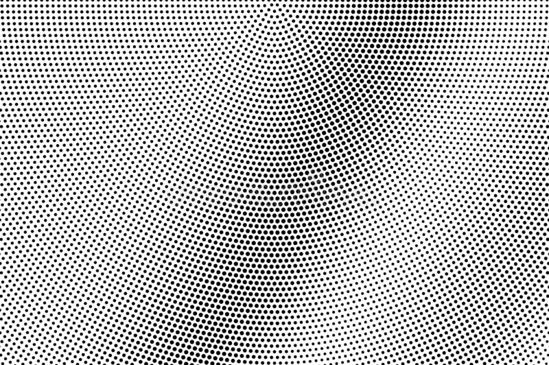 Black dots on white background. Subtle perforated surface. Faded halftone vector texture. Diagonal dotwork gradient vector illustration