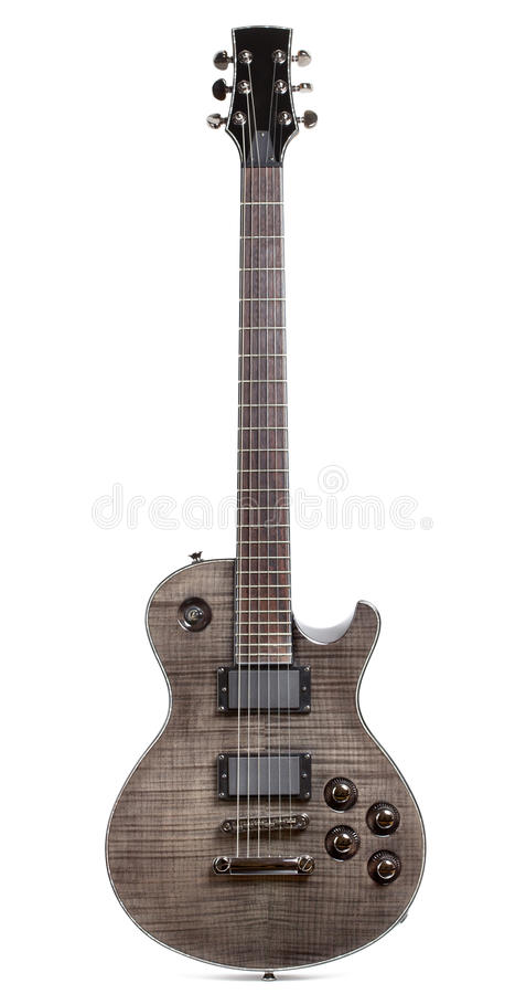 Black Electric Guitar stock photography