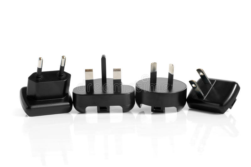 Download Black Electrical Adapters Stock Photography - Image: 25972942