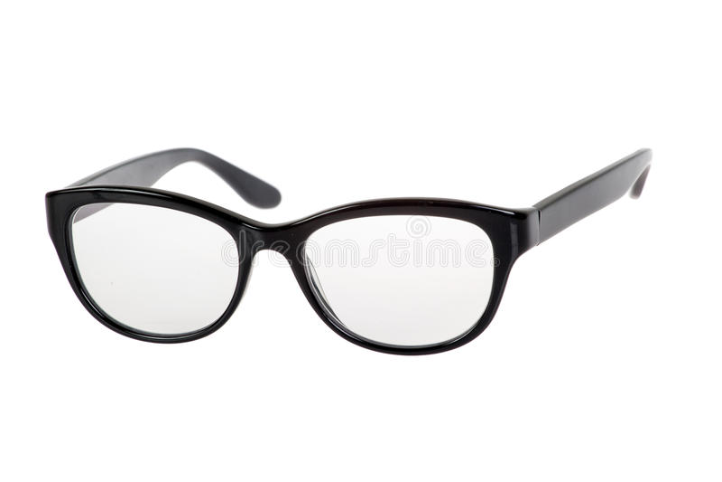 Download Black Eye Glasses stock image. Image of elegance, isolated - 37563623