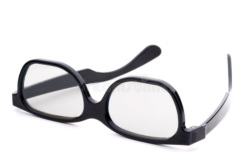 Download Black Eye-glasses With Tinted Lenses Stock Photo - Image: 7460704