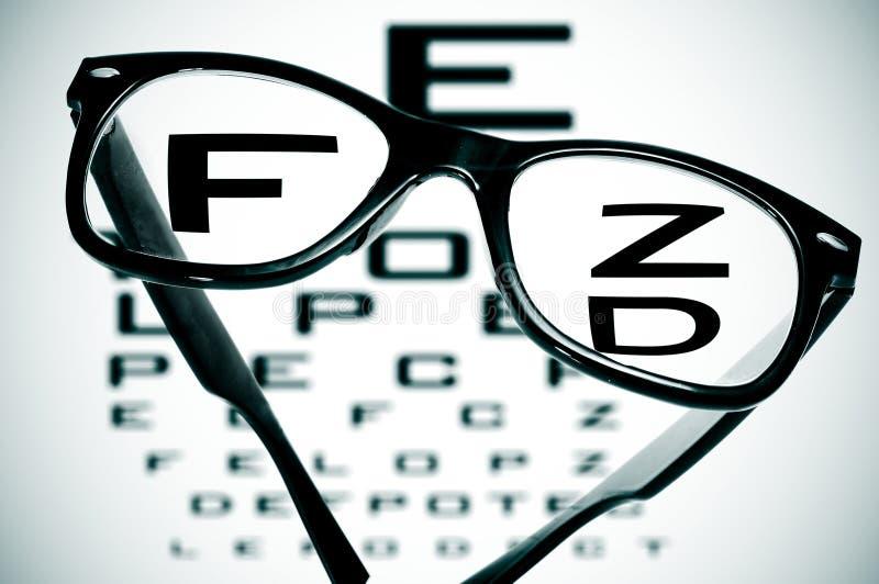 Download Black eyeglasses stock image. Image of medicine, conceptual - 23598577