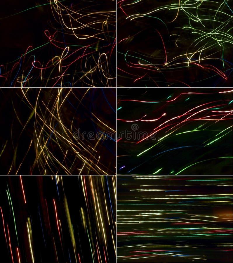 black för 6 bakgrunder arkivfoto