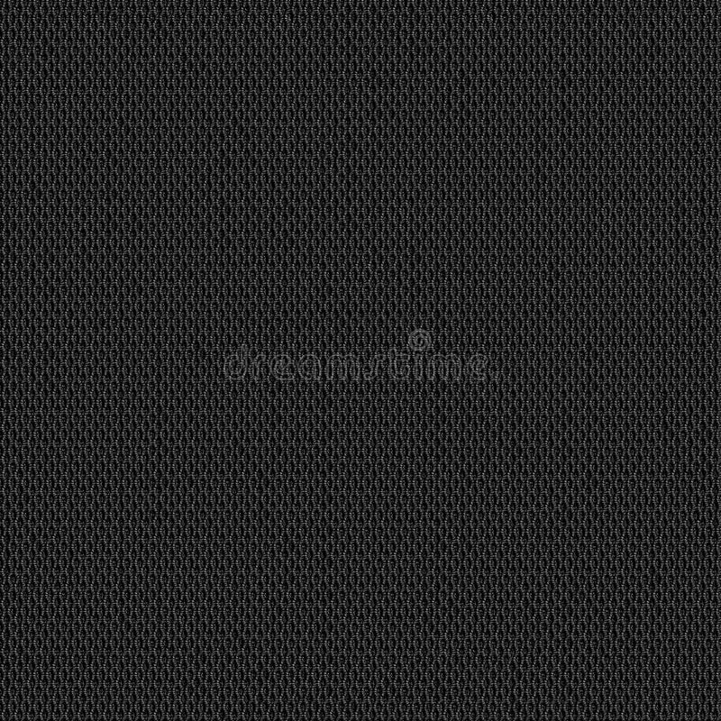 Black fabric texture seamless map for 3d and 2d. Texture map for 3d programms. Black and white texture can be used as diffuse map royalty free stock image
