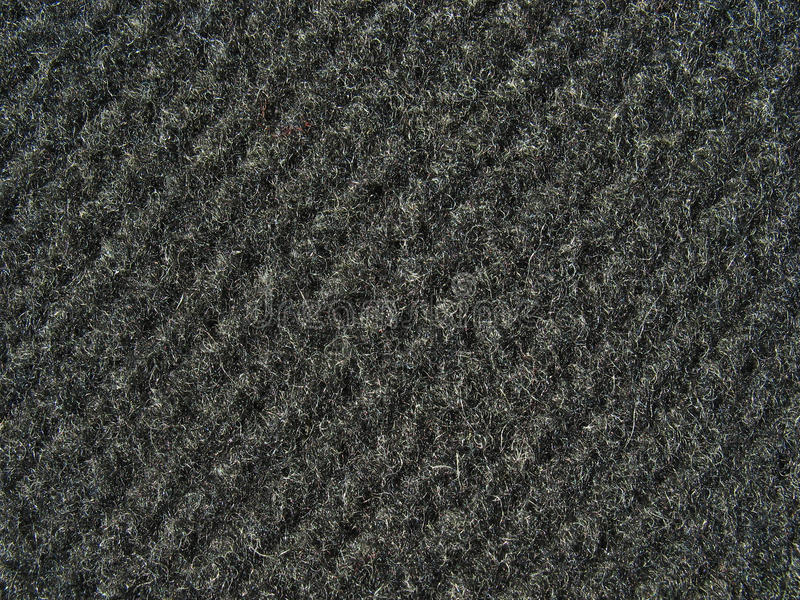 Black fabric texture - thick woolen cloth royalty free stock photography