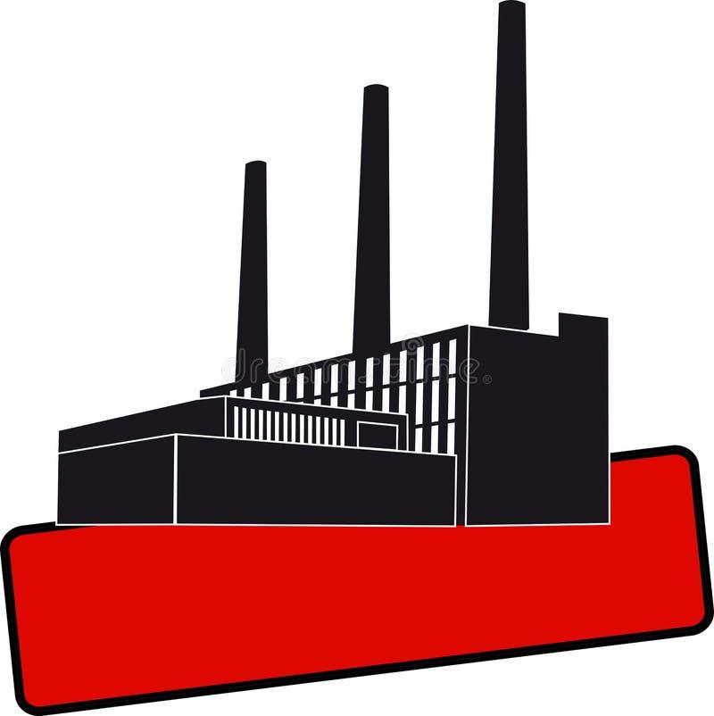 Download Black Factory stock vector. Illustration of large, crane - 11641350