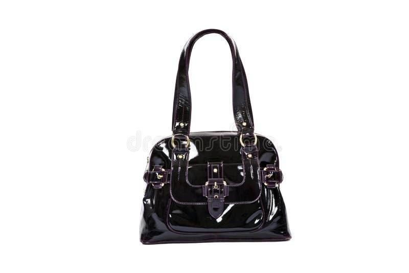 Black Fashion Bag Stock Photo