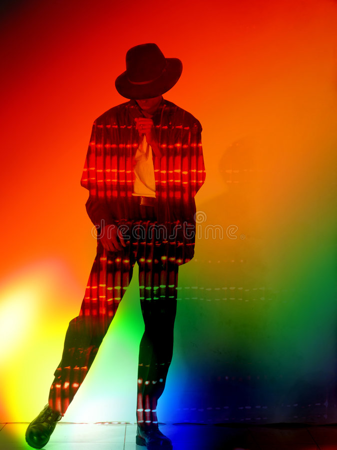 Download Black Fedora stock photo. Image of entertainer, colours - 3343234