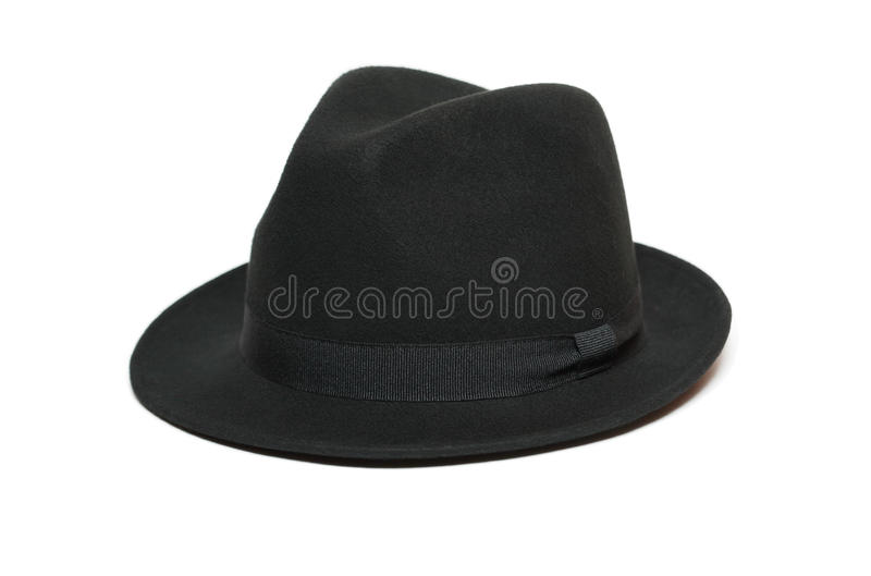 Black Felt Hat Royalty Free Stock Photos