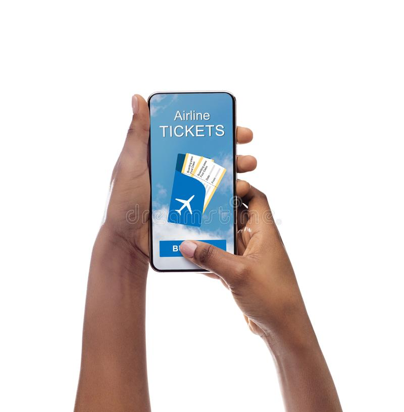 Airline Tickets Stock Photos