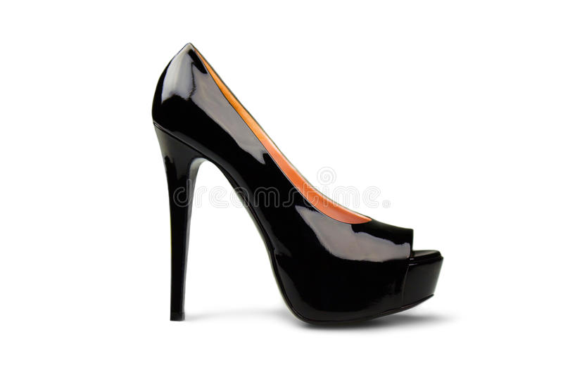 Black female shoe-2