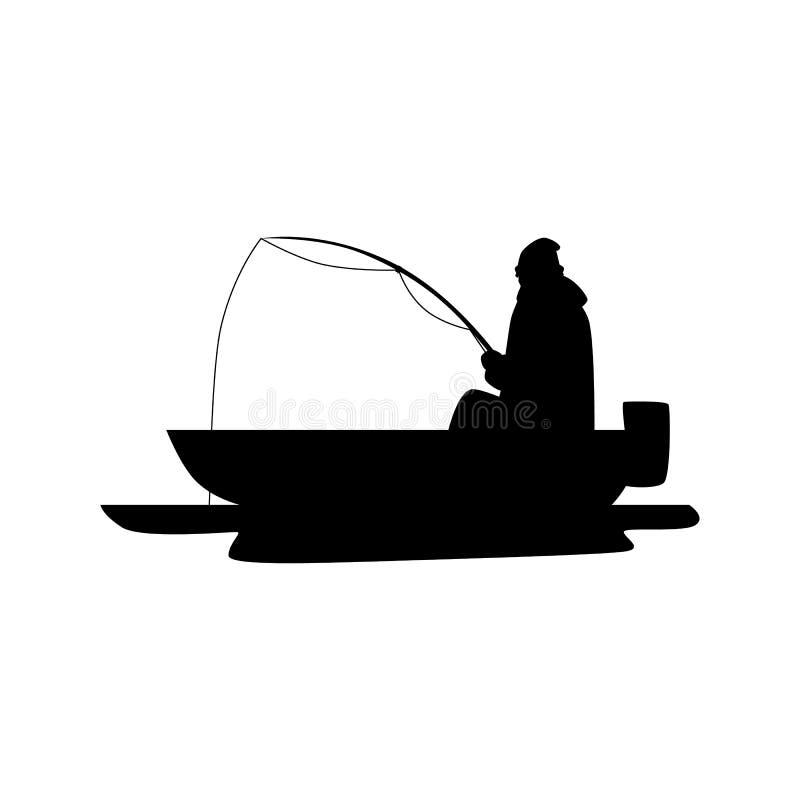 Silhouette Man Fishing Boat Stock Illustrations 916 Silhouette Man Fishing Boat Stock Illustrations Vectors Clipart Dreamstime
