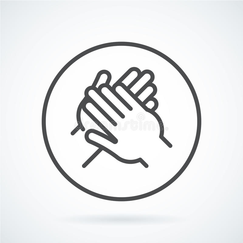 Free Black Flat Icon Gesture Hand Of A Human Applause, Bravo Stock Images - 88548984
