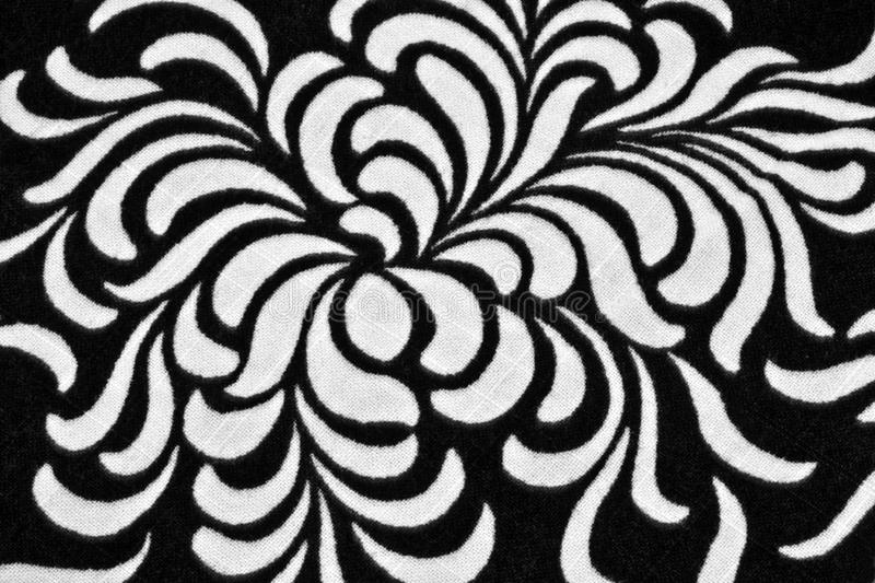 Download Print on fabric stock photo. Image of pattern, black - 21239178