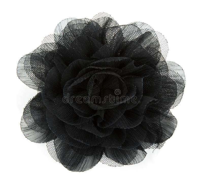 Free Black Flower Rose From Lace Stock Photos - 16681203