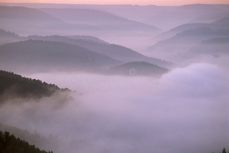 Black Forest. Autumn in the Black Forest, Germany royalty free stock photography