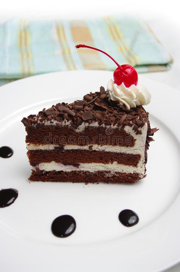 Download Black Forest Cake stock image. Image of chocolate, torte - 11993357