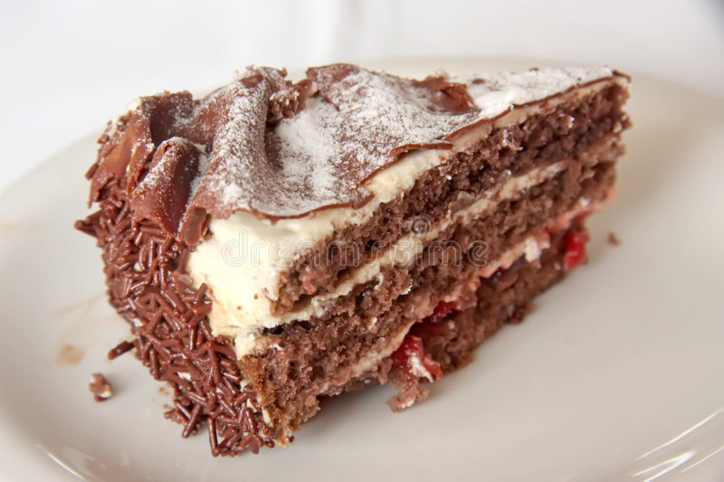 Download Black forest cake stock photo. Image of creamy, white - 5535904