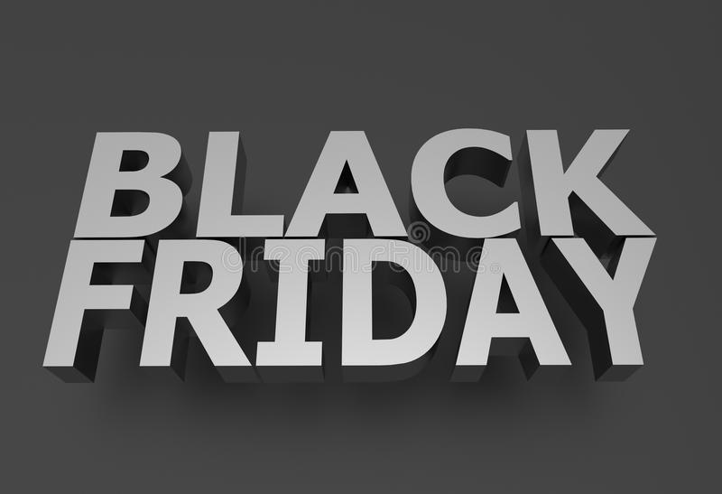Black Friday illustrazione di stock