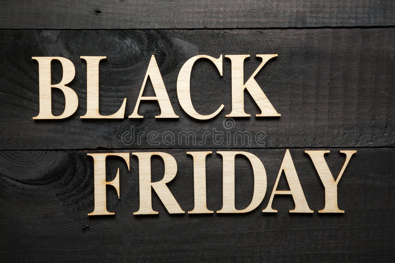 Black Friday fotografie stock