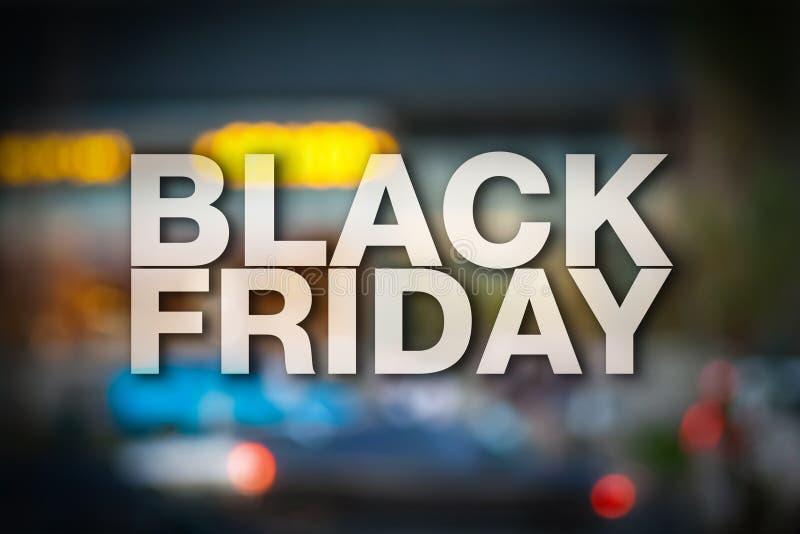 Black Friday affisch arkivfoto