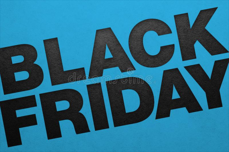 Black Friday affisch royaltyfria foton