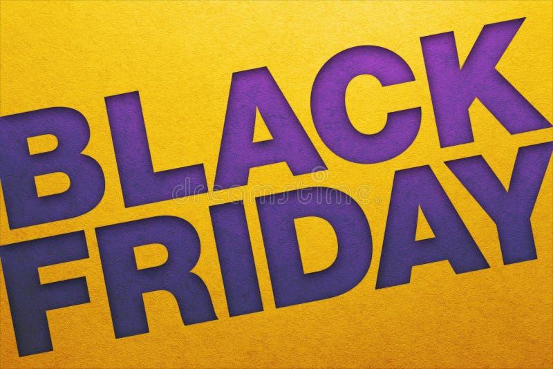 Black Friday affisch royaltyfri fotografi